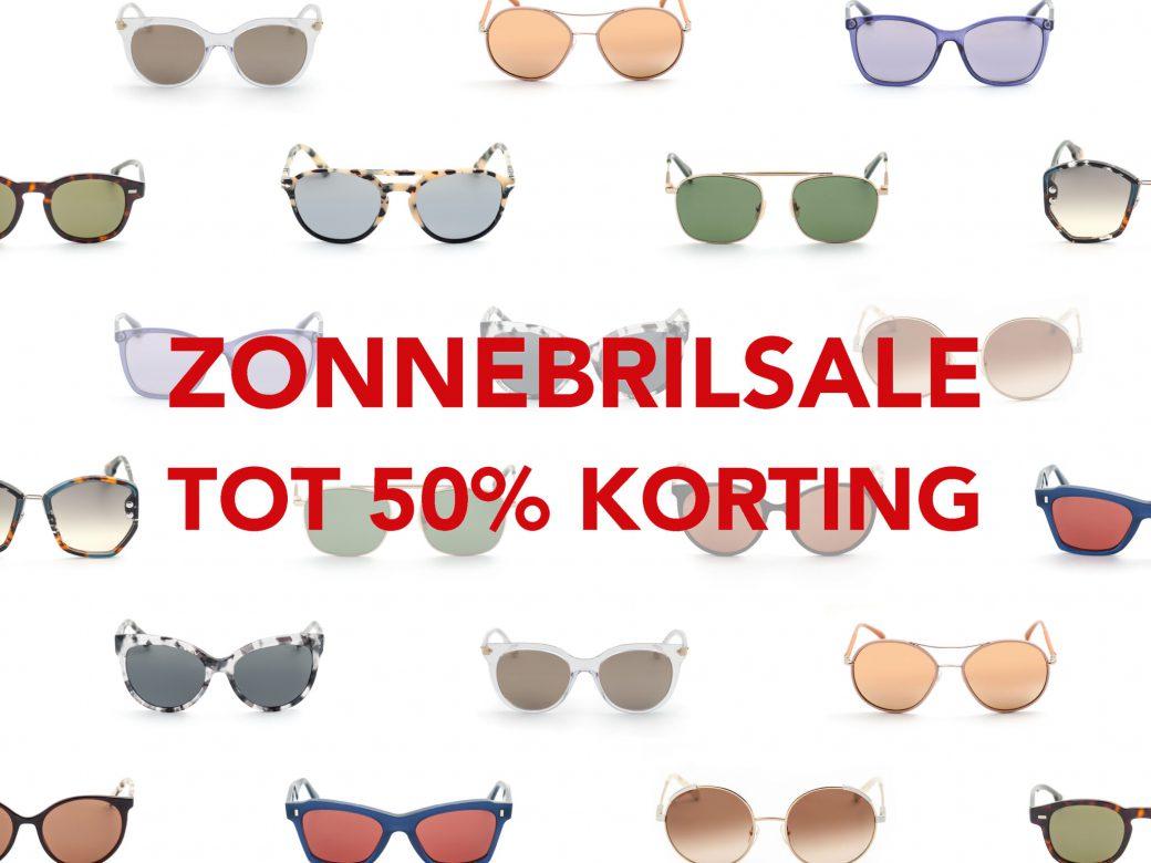 Sale op zonnebrillen